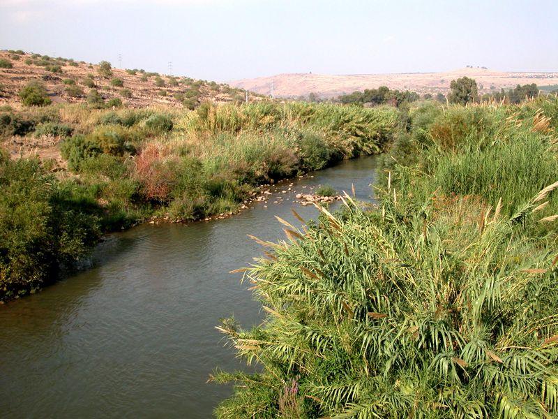 Jordan River north of Sea of Galilee, tb102702